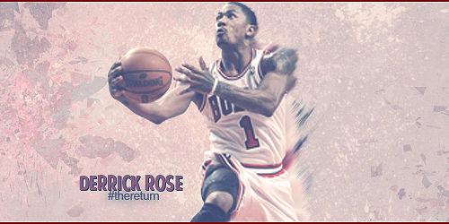 Derrick Rose signature. :)