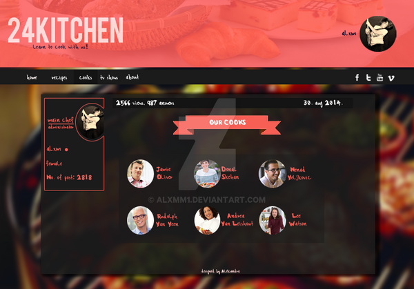 24kitchen template by alxmm1