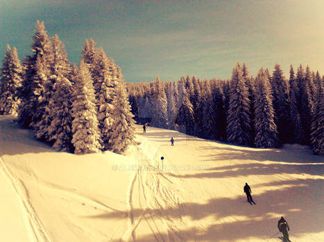 1st skiing in 2015.