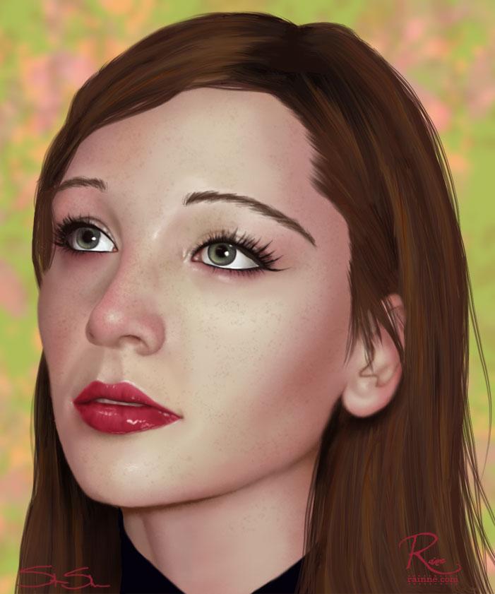 Freckles by slshimerdla