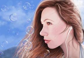 Melody (Painting) by slshimerdla