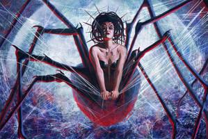 Spider Queen by slshimerdla