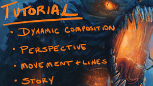 Holy Diver Tutorial on Composition + Story + More! by slshimerdla