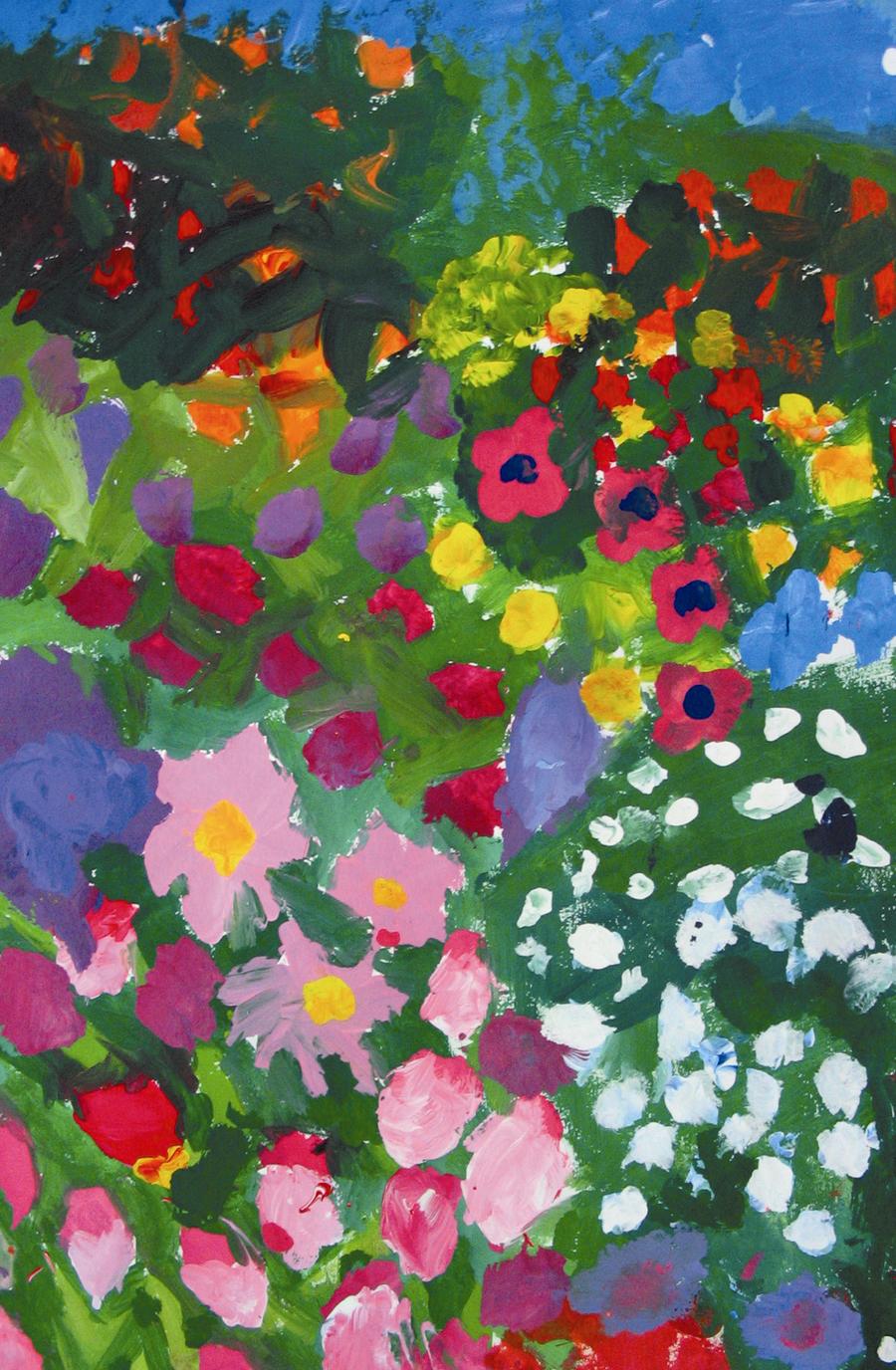 flower garden by techfreak107