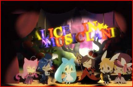 Alice in Musicland by RairiDoki