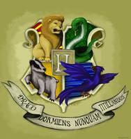 Hogwarts crest by Maybellez