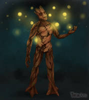 I am Groot by Maybellez
