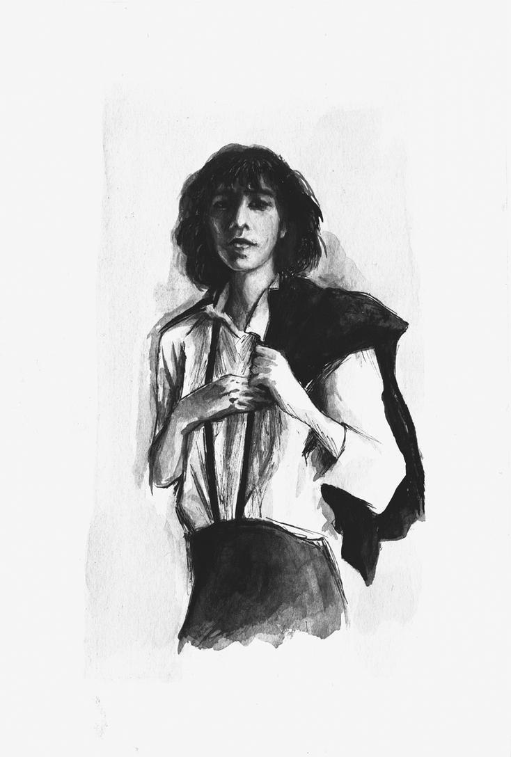 Patti Smith by Maybellez