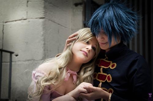 Reborn- Daemon and Elena by X-Tira-Misu-X