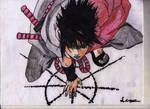 Sasuke summoning
