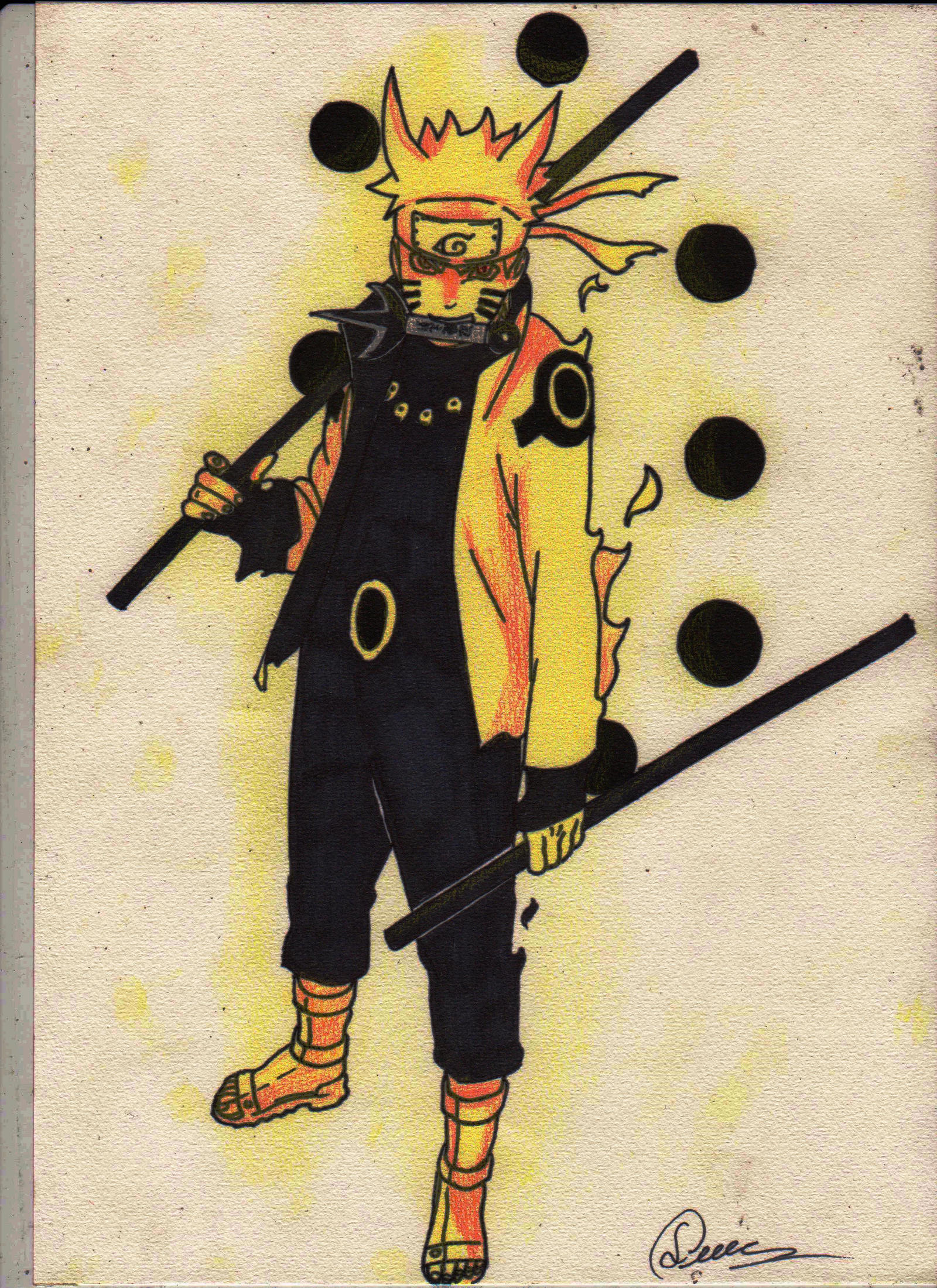 Naruto rikudou mode by Zangetsu552 on DeviantArt