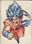SSGSS Goku charge