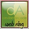 Deviant Arcade Stamp by iZgo