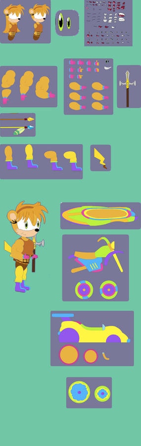 Character Builder- Citrine Mongoose