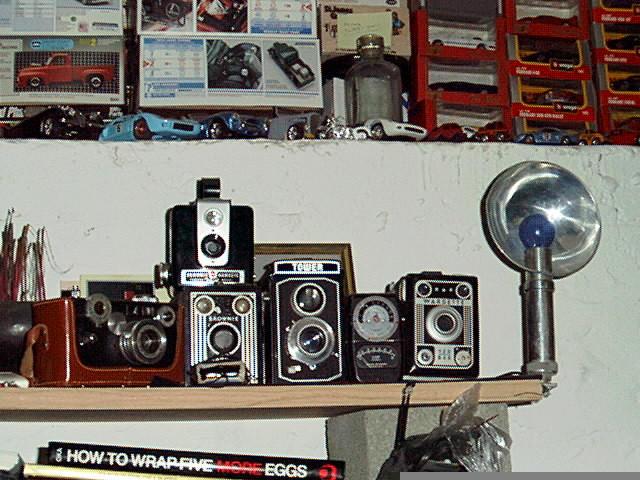my cameras by jokerrabit