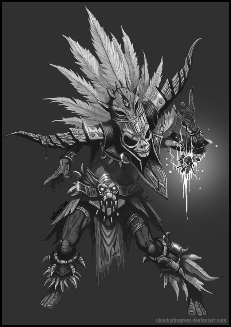 Diablo 3 Witch Doctor by ShockyTheGreat