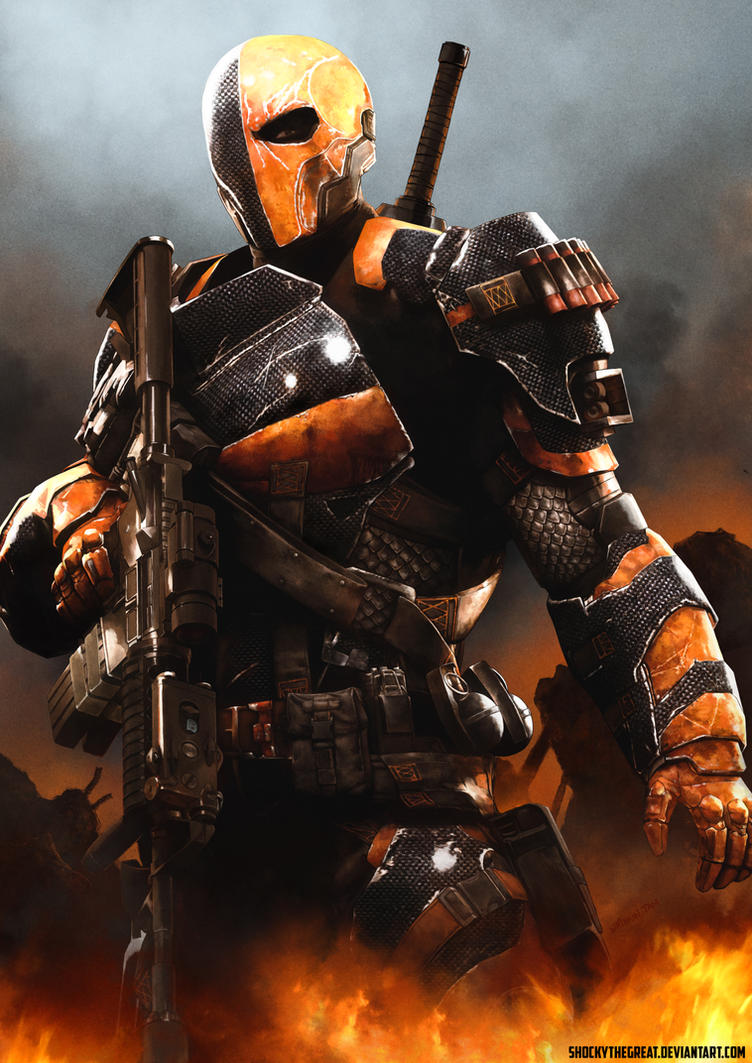 deathstroke armor template - deathstroke slade wilson by shockythegreat on deviantart
