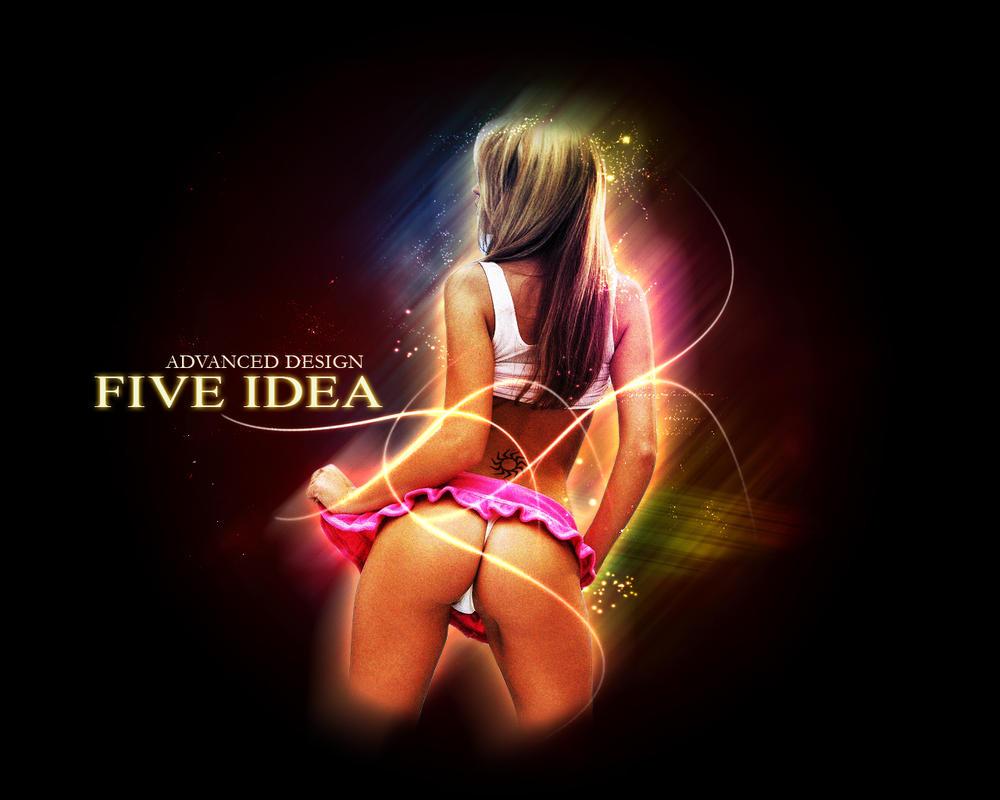 five idea design agency by heroamka - Idea Design