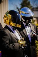 Daft Punk @ ConNooga 2014 by DoubleZeroFX