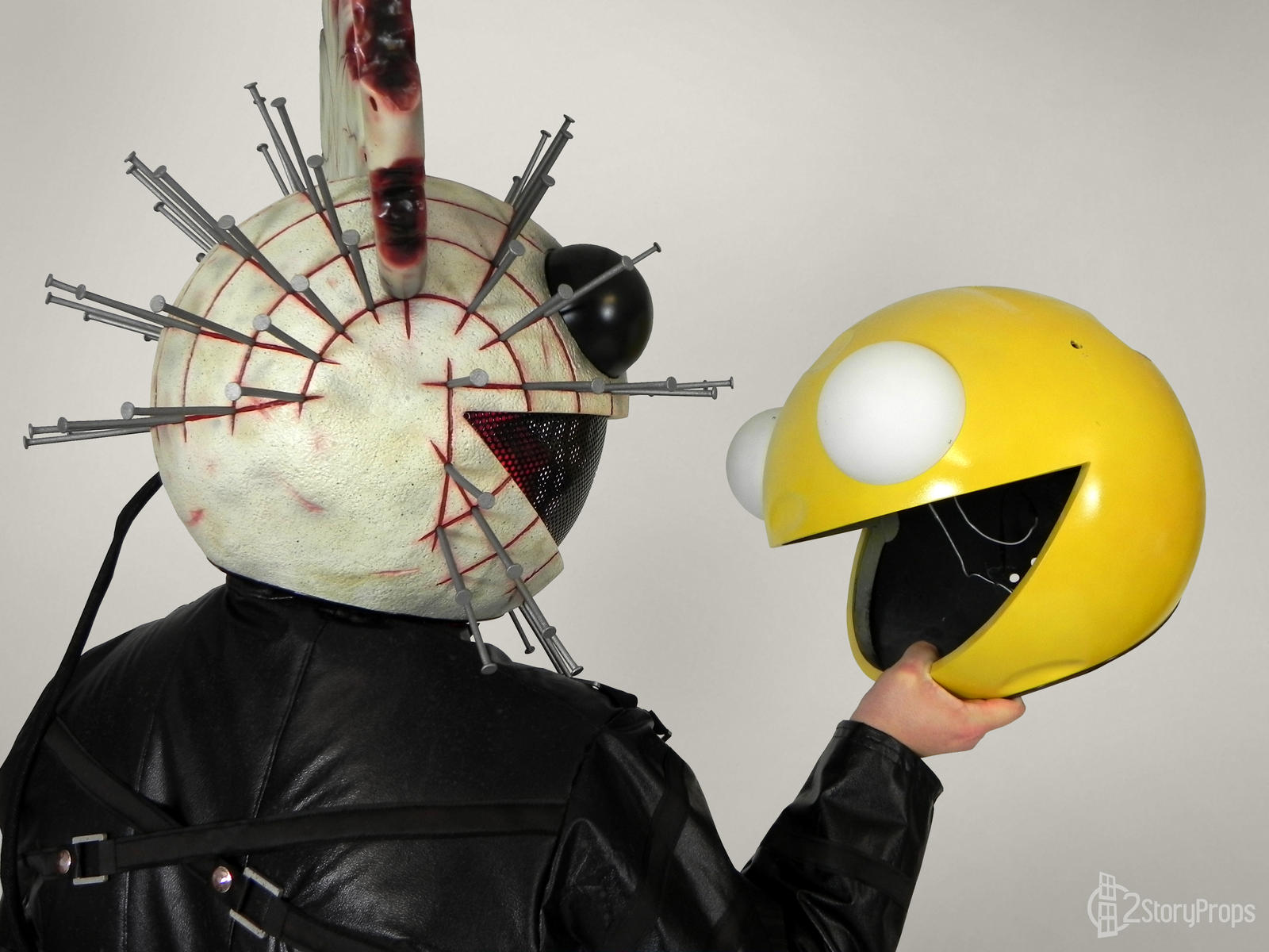 deadmau5 pinhead halloween 2014 by doublezerofx deadmau5 pinhead halloween 2014 by doublezerofx - Deadmau5 Halloween Head