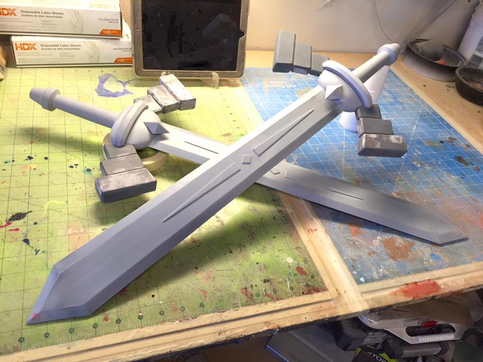 Nintendo Land Zelda Battle Quest Sword by DoubleZeroFX