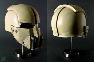 Fallout 4 Synth Field Helmet by DoubleZeroFX