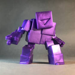 Art Toy: CubiGolem