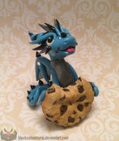 Chocolate Chip Cookie Dragon by RadugaDragon