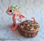 Gem Jewellry Box Dragon