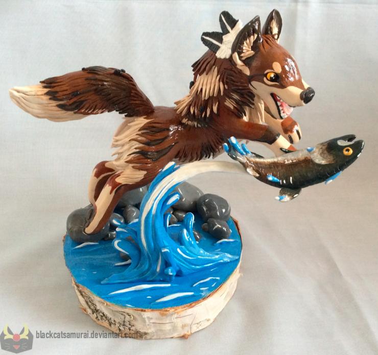 Wolf-SiSi Contest: Skoll by BlackCatSamurai