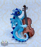 Double Bass Dragon by RadugaDragon