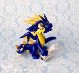 Lightbulb Dragon by RadugaDragon