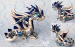 Gzhel Dragon