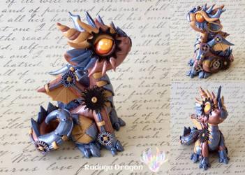 Steampunk Dragon by RadugaDragon