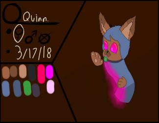updated Quinn by miniwolf182