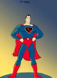 Um estranho do planeta Krypton