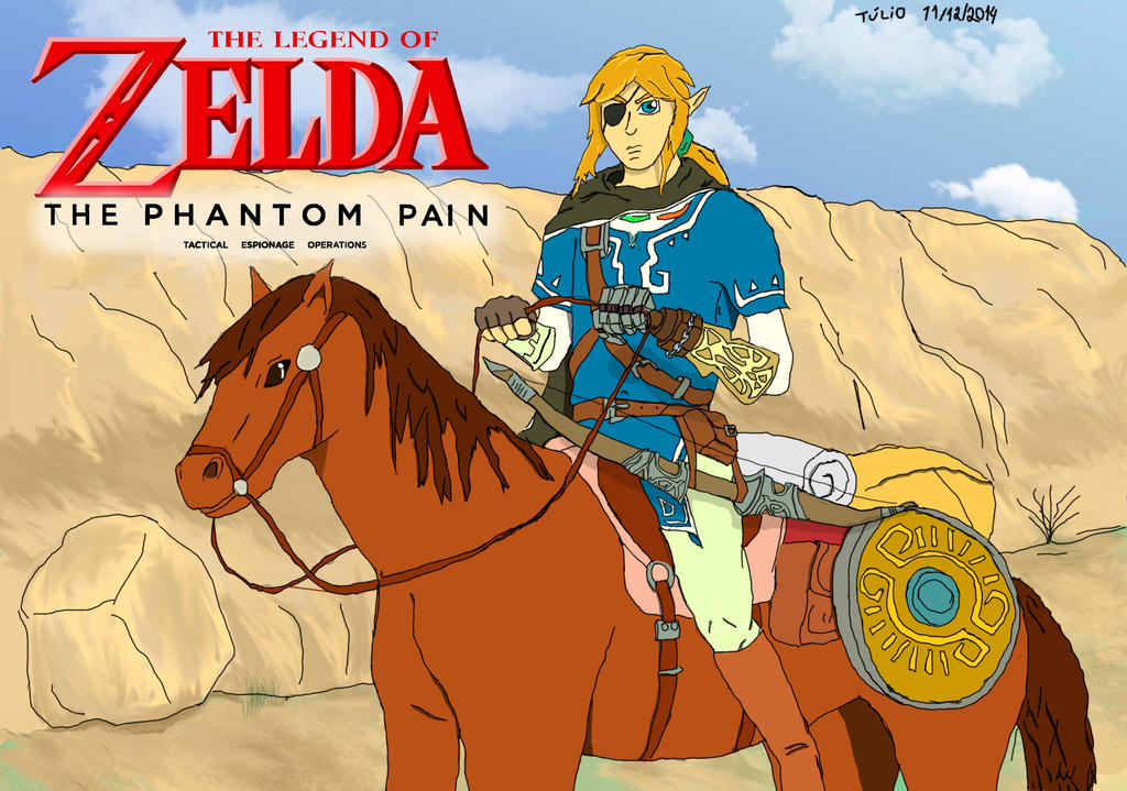 The Legend of Zelda The Phantom Pain by Awesomaximus