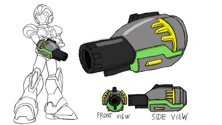 Buster concept for the Rockman X Dive contest