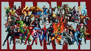 Marvel Super Heroes - Wallpaper