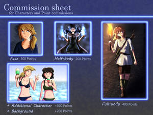 Commission Sheet