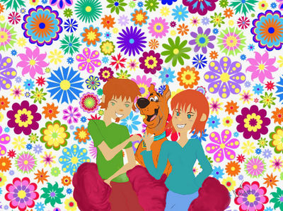 Celebrating 4/20 with Scooby Doo  Shaggy