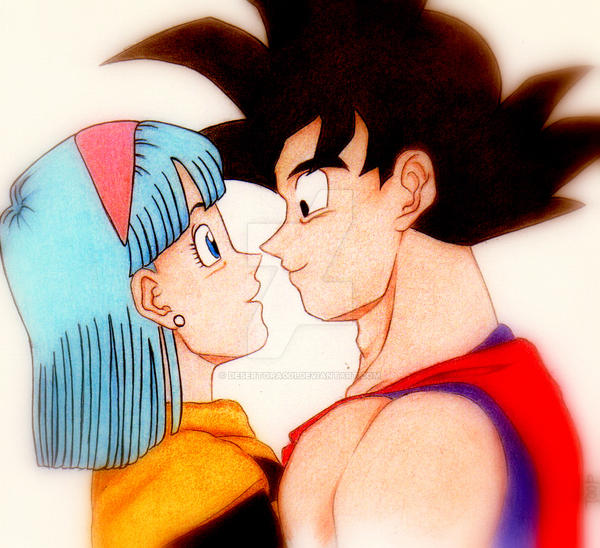 goku and bulma naked