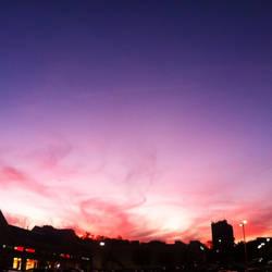 Pink Clouds by SasukeUchiha22