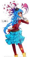 C: Spade by BlueJNeko