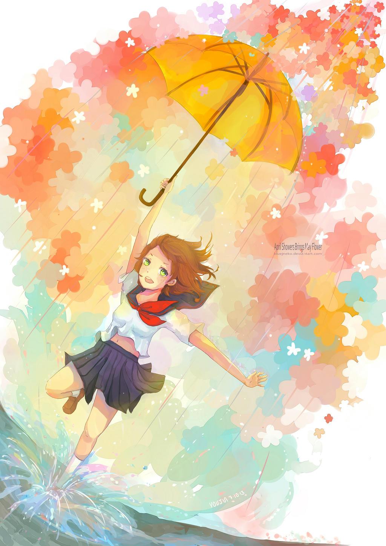 April Showers Bring May Flowers by BlueJNeko on DeviantArt