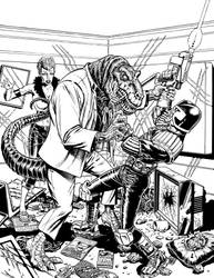 Judge Dredd Megazine Issue 215 by westonfront