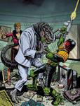 Judge Dredd Megazine Cover 215