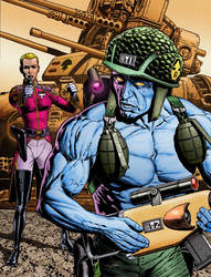 Rogue Trooper Cover Prog 1383 by westonfront