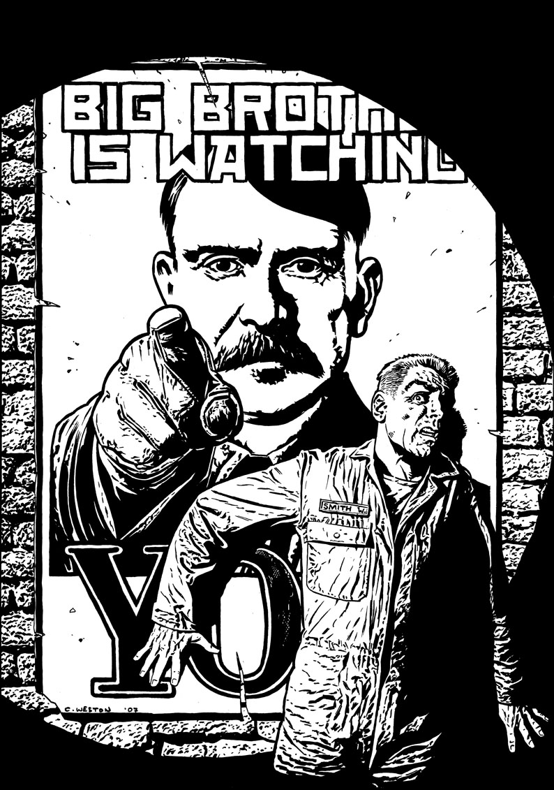 an analysis of the character of winston smith in the novel 1984 by george orwell Novel summaries analysis j winston smith in the novel 1984 orwell named his central character winston smith after winston churchill.