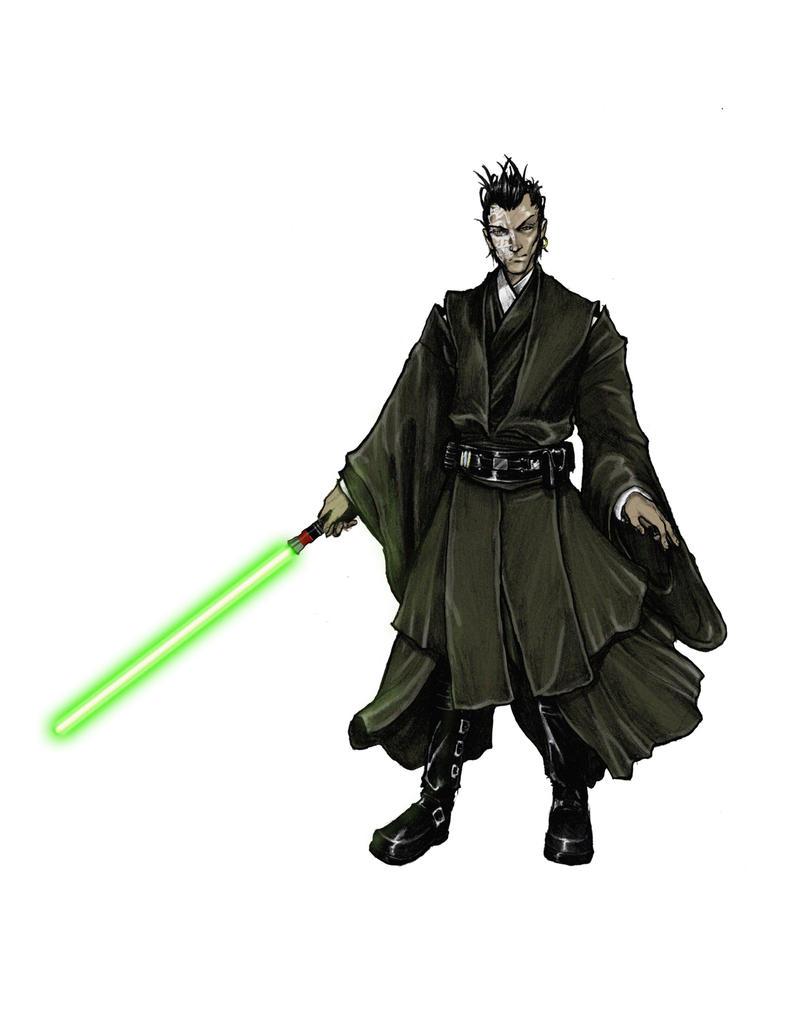 Jedi Master Yuri Amino by thedarkestseason